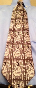 Egyptian-themed tie