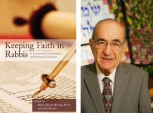 "Rabbi Harold Schulweis, z""l, contributed to the recently published ""Keeping Faith in Rabbis."" He died December 18, 2014, at the age of 89."