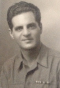 My grandfather, Sam Lesner, during World War II.