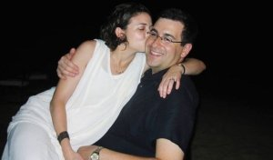 Facebook COO Sheryl Sandberg with her husband, the late David Goldberg