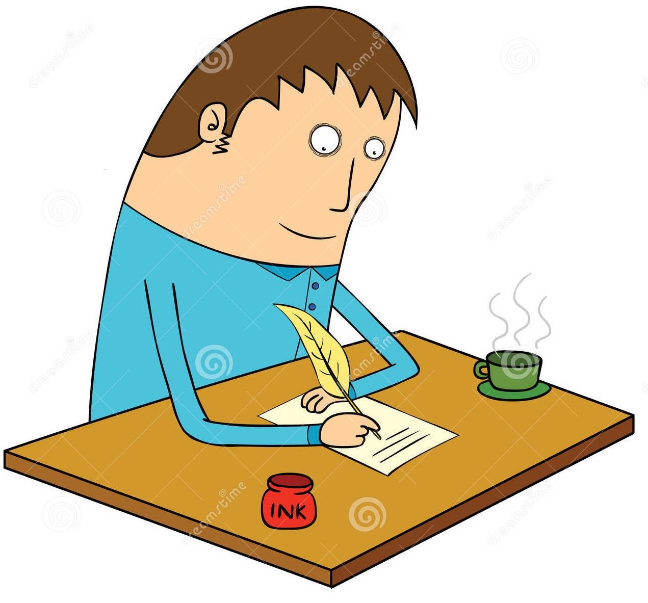 Letter Writing Clip Art 745083