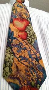 A cornucopia of fruit, reminiscent of the Bikkurim/first fruits